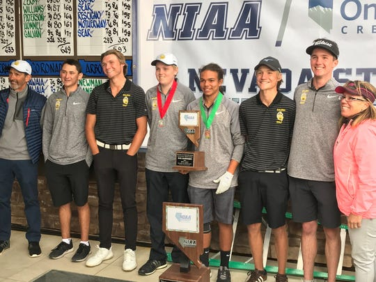 Galena took second in the 4A state golf tournament.