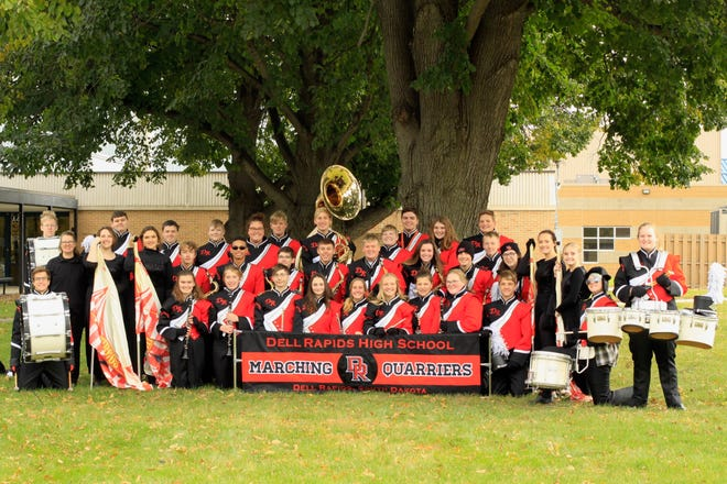 The Dell Rapids marching band once played on Memorial Day weekend before the start of the Indianapolis 500. The current marching band continues to grow and hopes to perform again at such an event.
