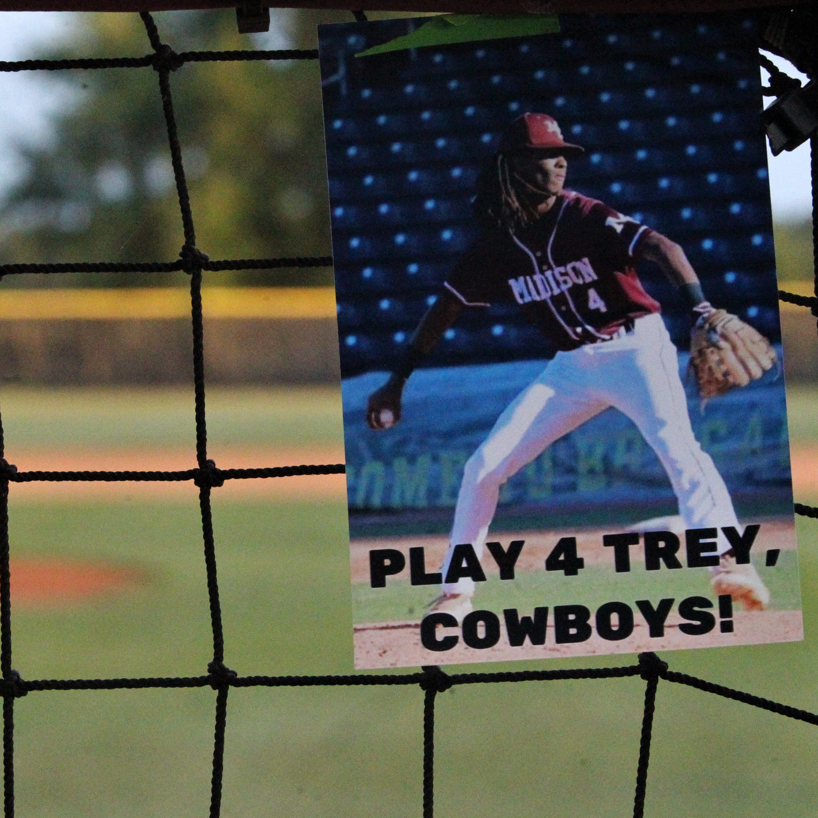 'Play 4 Trey': Madison County wins playoff game, grieves former player Mitchell's death