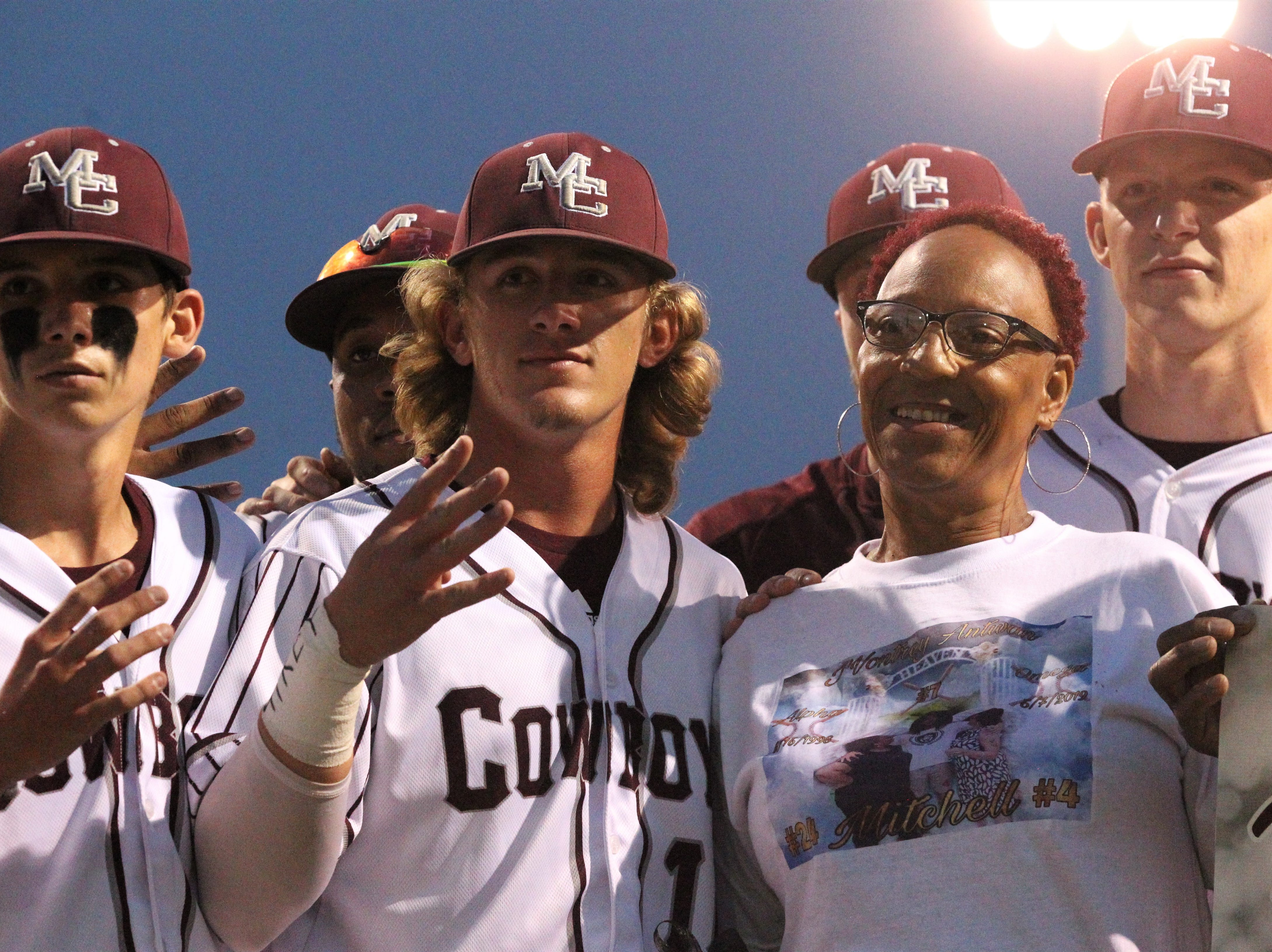 Madison County beat Union County 1-0 during a Region 2-1A semifinal on May 14, 2019. The Cowboys played for former player Trey Mitchell, who died in a drowning accident last week.