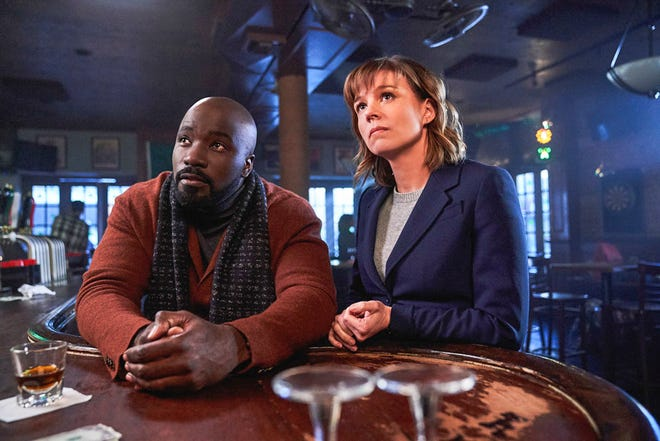 """A skeptical forensic psychologist Katja Herbers) joins a priest-in-training and a carpenter (Mike Colter) to investigate the church's backlog of supposed miracles, demonic possessions and unexplained phenomena in CBS drama """"Evil."""""""