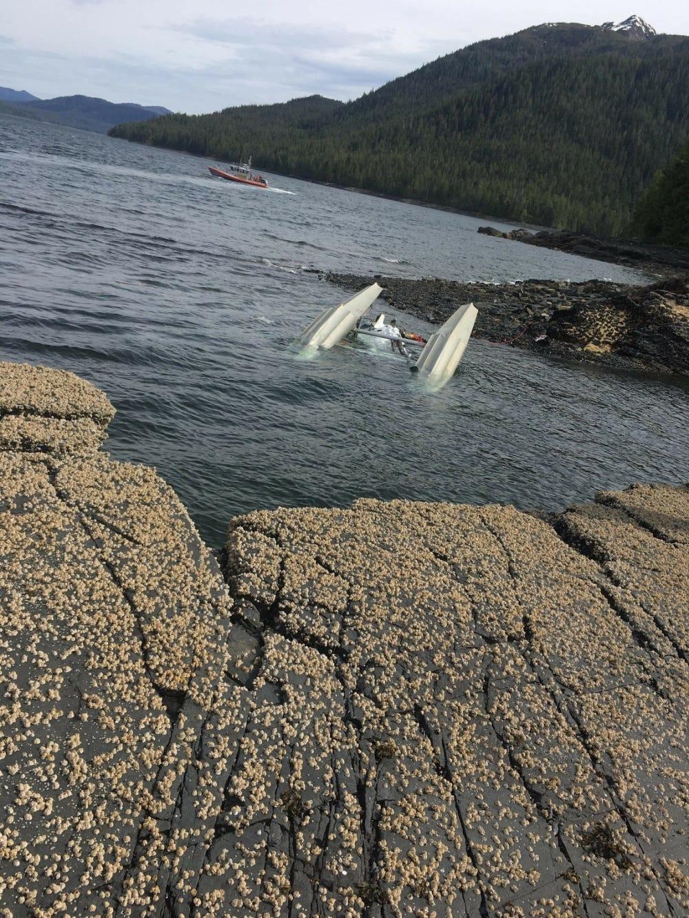 How did it happen? NTSB begins probe of midair collision of Alaska floatplanes that killed 6 people