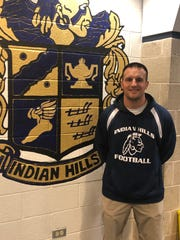 Indian Hills football coach Dominic Mulieri