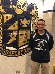 Indian Hills football coach Dominic Mulieri