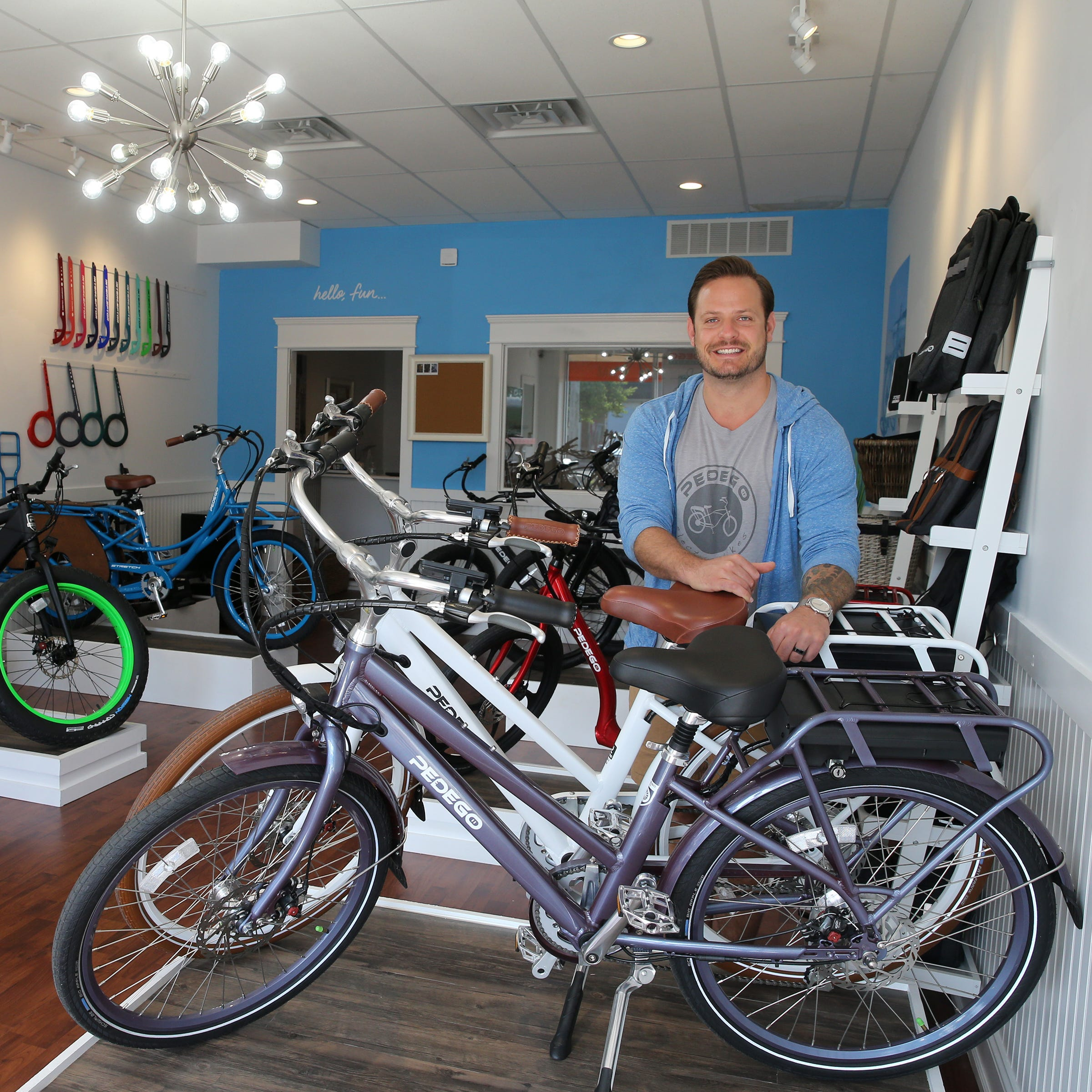 Pedego Electric Bikes expands to new Shore store as customers hop on