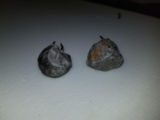 Two musket balls proven to be fired in the Boston Massacre of 1770