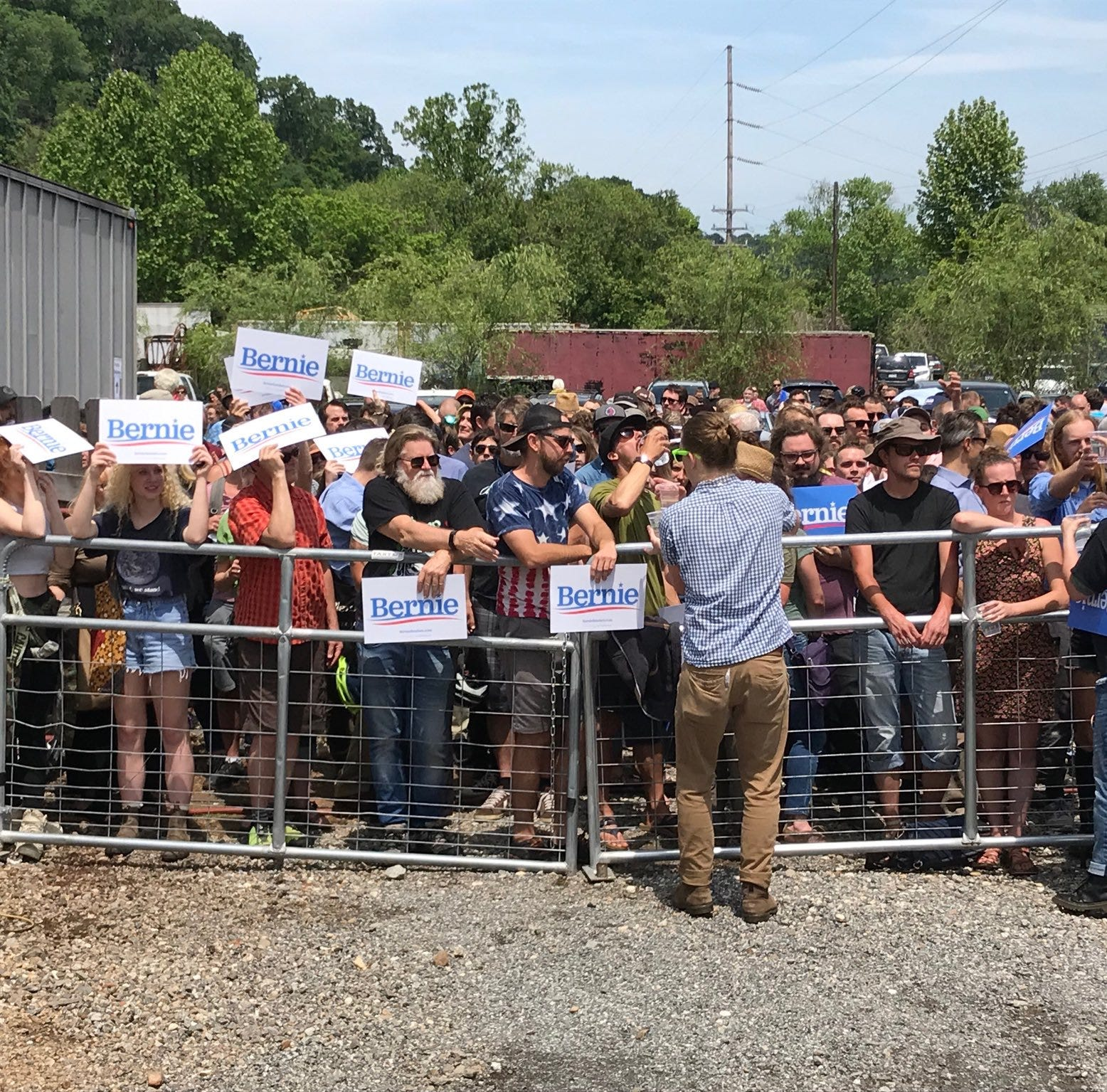 Bernie Sanders in Asheville: 2020 candidate is first to make a stop in WNC