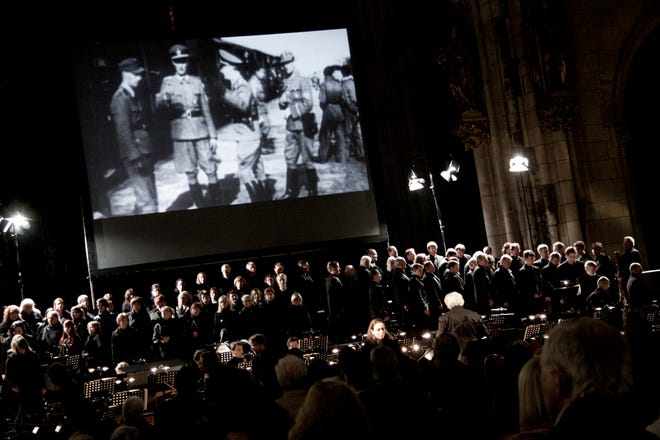 """""""Defiant Requiem"""" has been performed around the world. It comes to Asheville on June 1."""