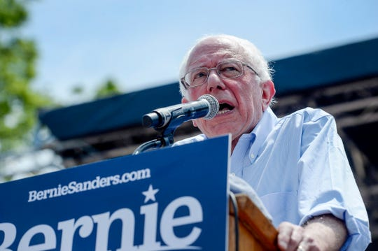 Presidential candidate Bernie Sanders is making a swing through the South as he tries to get an edge over current frontrunner Joe Biden.