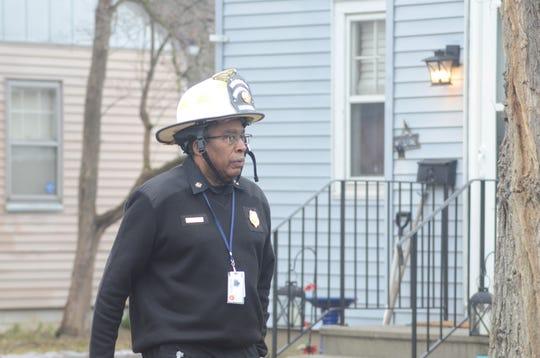 Battle Creek Fire Chief Brian Sturdivant
