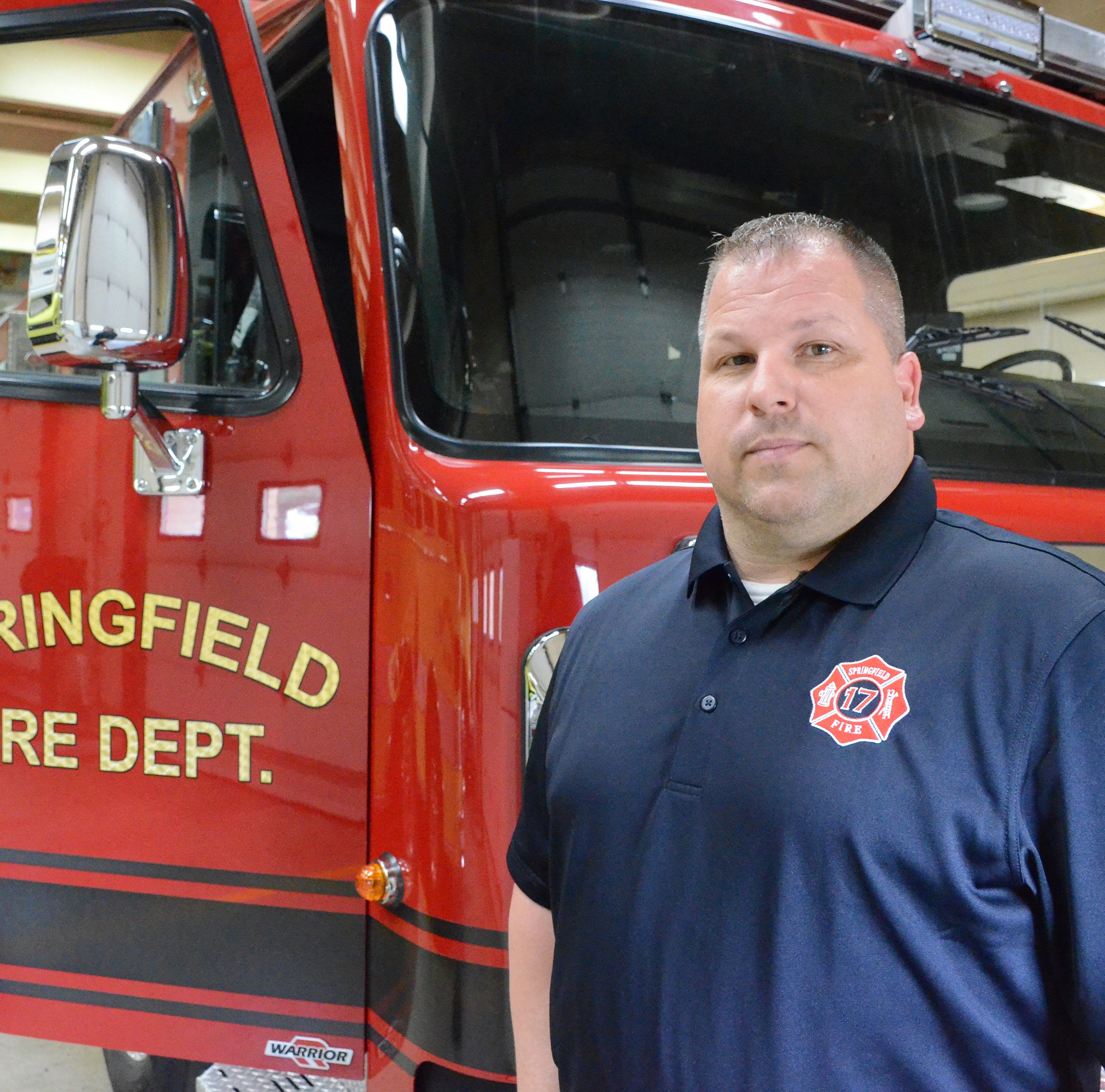 Springfield fire chief looking for more firefighters, but not help from Battle Creek