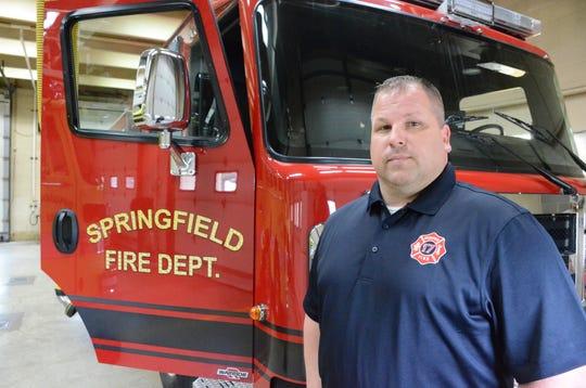Springfield Fire Chief Scott Cipcic