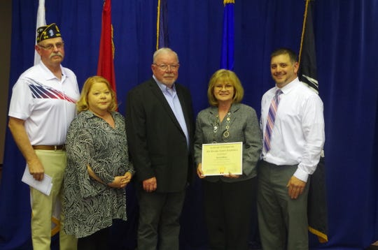 The ninth annual Veterans of Distinction Ceremony was held Thursday evening by the Broome County Legislature.