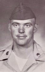 David Rozzell, pictured here as a high school senior, graduated from Owen in 1964. He was drafted to fight in the Vietnam War five years later.