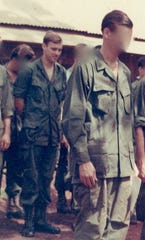 David Rozzell served as a combat medic in Vietnam after being drafted in the summer of 1969.