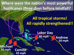 Tropical storm to category 5: Hurricane Michael shows storms can strengthen with deadly speed