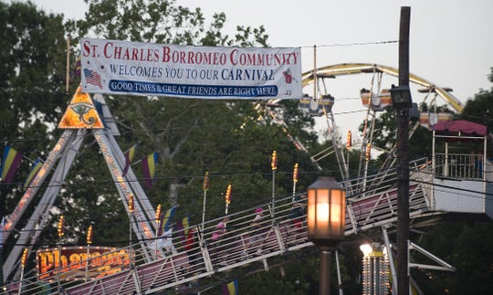 The St. Charles Borromeo Carnival has been a Cinnaminson tradition for generations.