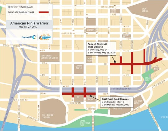 There are a lot of events going on downtown in the next week and that means a lot of road closures.