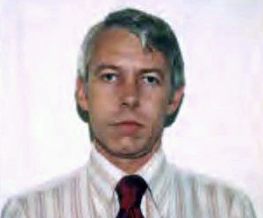 This undated file photo shows a photo of Dr. Richard Strauss, an Ohio State University team doctor employed by the school from 1978 until his 1998 retirement. Investigators say over 100 male students were sexually abused by Strauss who died in 2005. The university released findings Friday, May 17, 2019, from a law firm that investigated claims about Richard Strauss for the school.