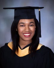 Amanda Wortham of East Brunswick received a bachelor's degree from Gwynedd Mercy University in Pennsylvania on Saturday, May 11.