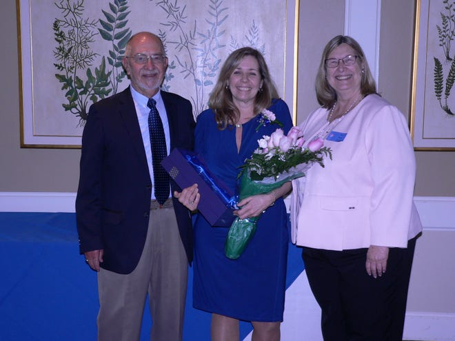 Lenny Laich, board chair, Community VNS; Anita Ciano, Community Care Hospice manager and Alyce Brophy, president/CEO, Community VNA.