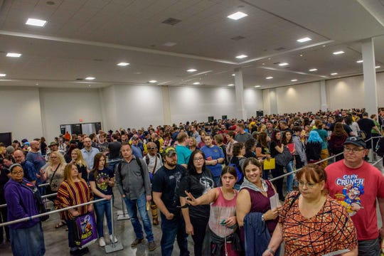 Motor City Comic Con 2019 returned to the Suburban Collection Showplace in Novi on May 17, 2019.