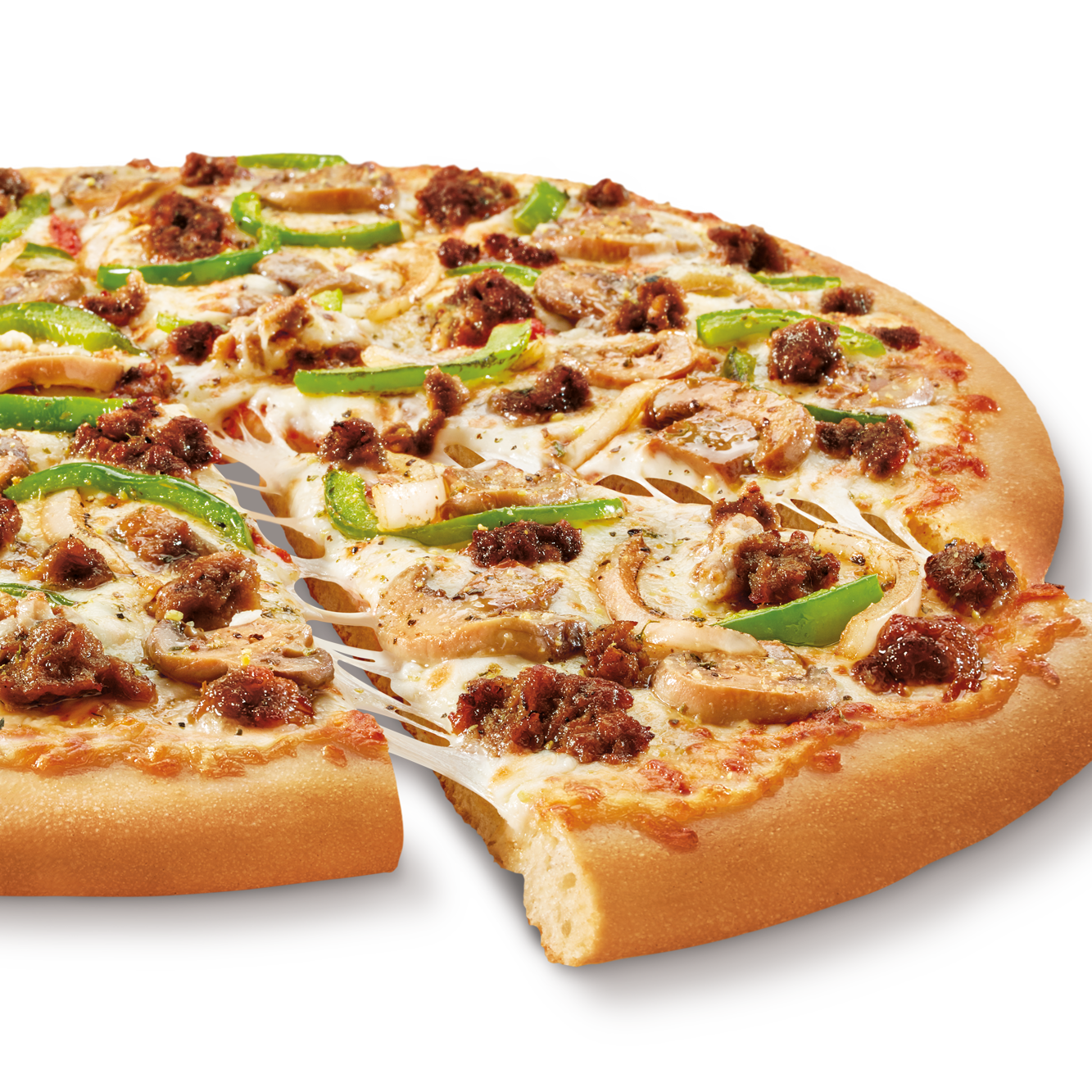 Little Caesars testing plant-based sausage topping on pizza