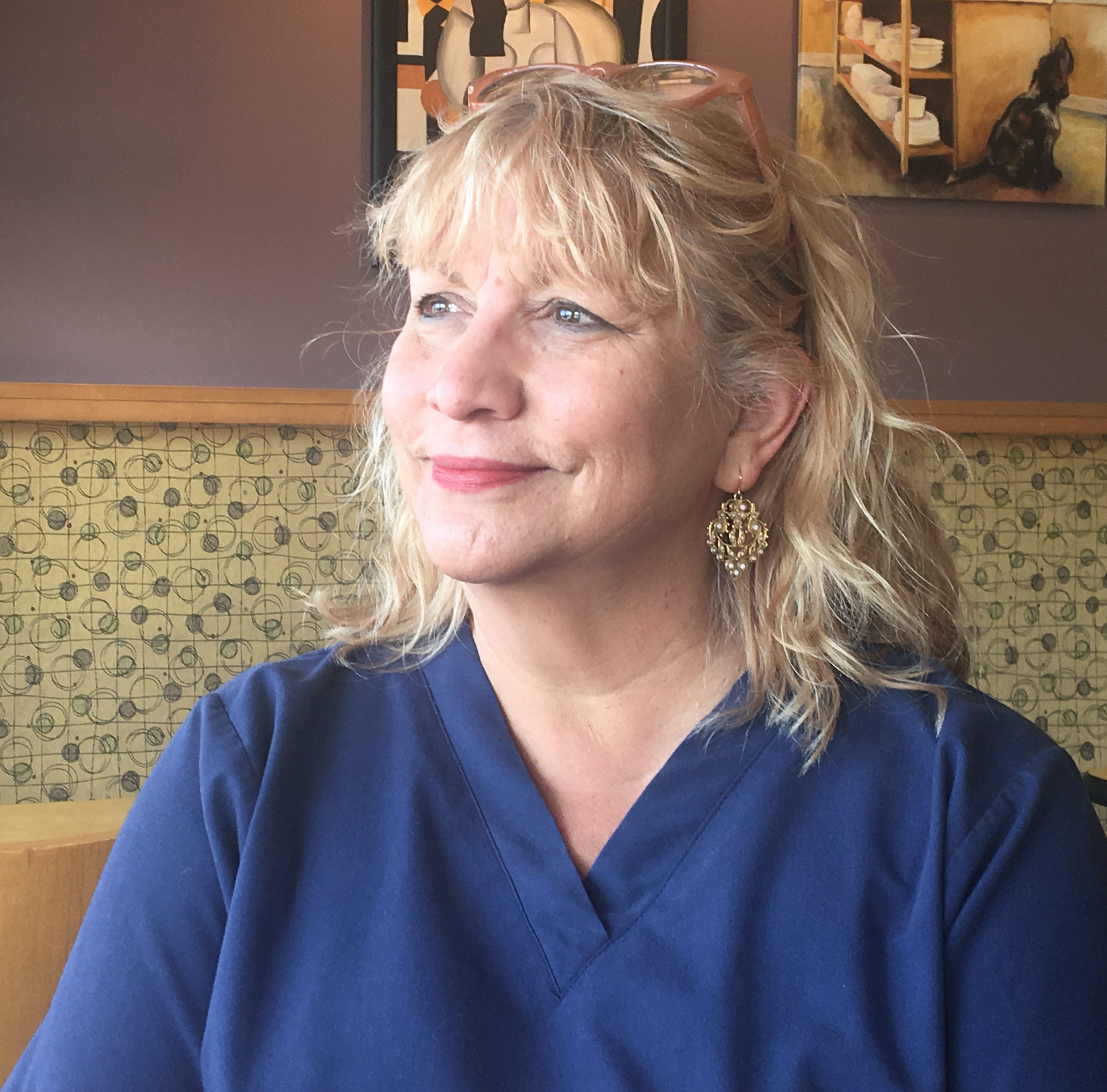 Kathleen VanPoppelen, a registered nurse from Oakland Township, was a diehard Republican until Donald Trump ran for President in 2016.