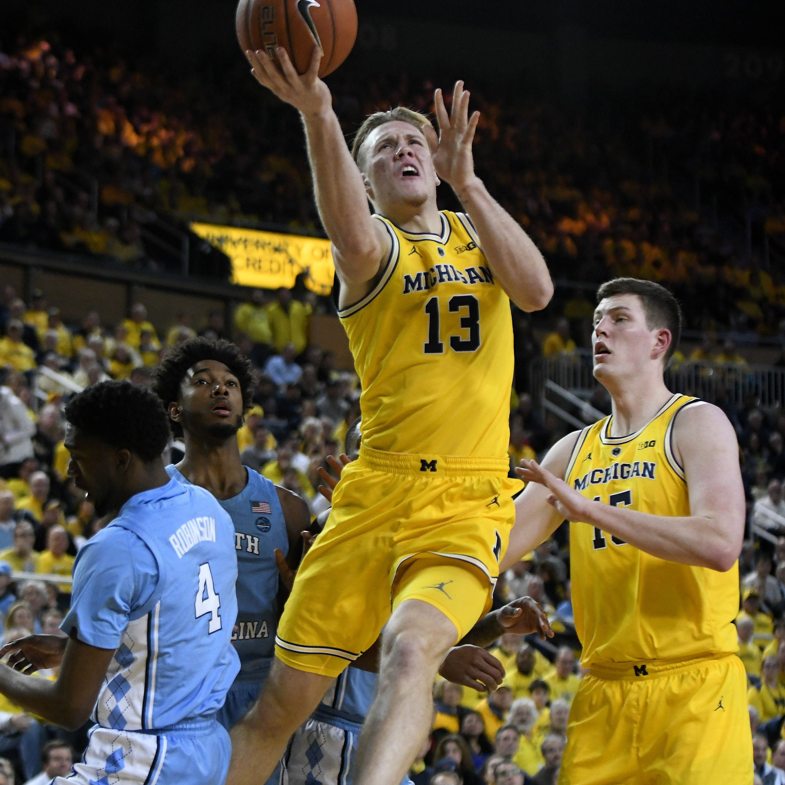 UM's Brazdeikis weighs draft decision, says Beilein departure will be factor