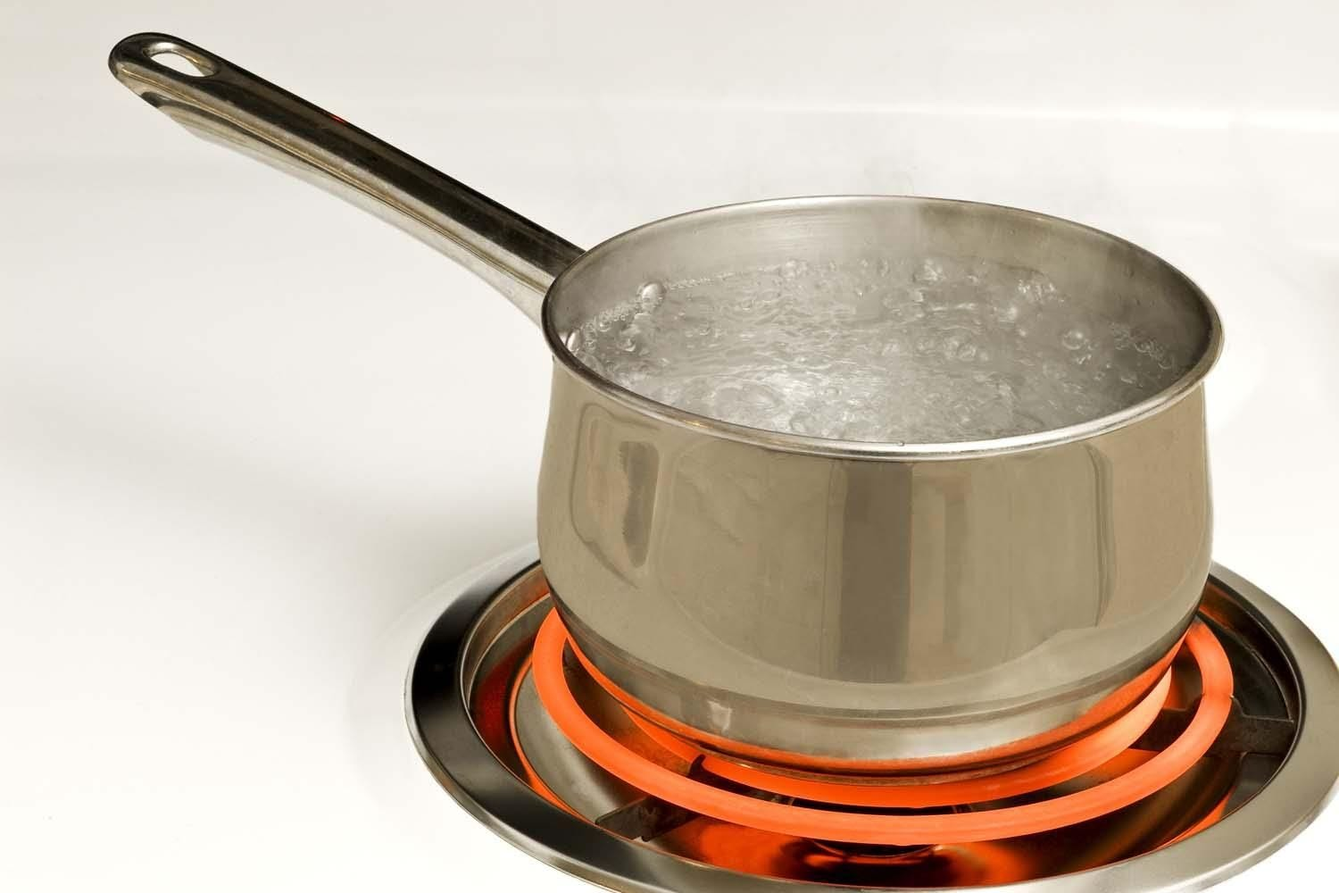 People in the city should boil any water intended for consumption for at least 5 minutes to kill any bacteria.