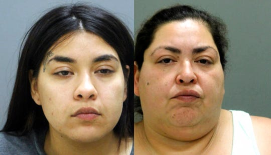 Desiree Figueroa, left, and her mother, Clarisa Figueroa, are charged in the death of 19-year-old expectant mother Marlen Ochoa-Lopez.