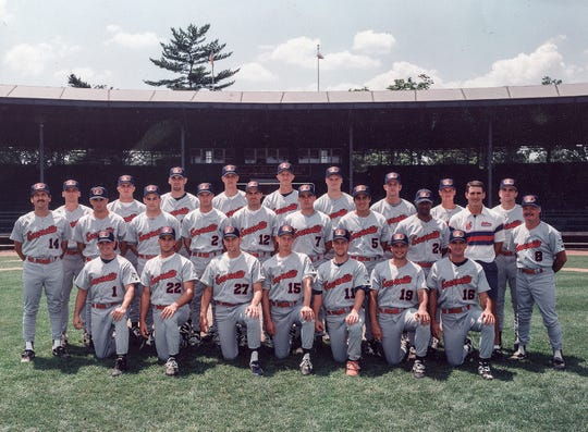 The 1995 Evansville Otters baseball team.