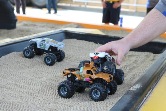 The new Monster Jam Thunder Alley exhibit at Cedar Point offers a lot of interactive activities for the whole family.