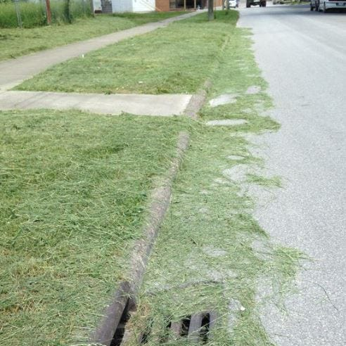 Fremont to enforce laws against blowing grass clippings onto streets