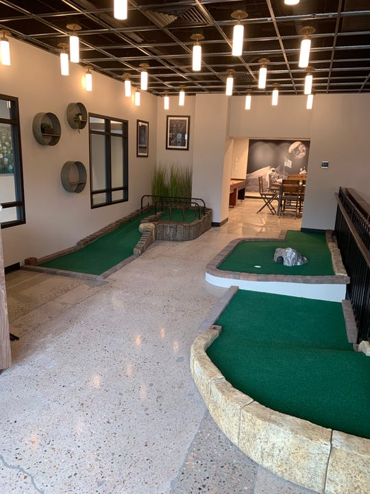 Old Town Putt is now open in The Exchange in downtown Fort Collins.
