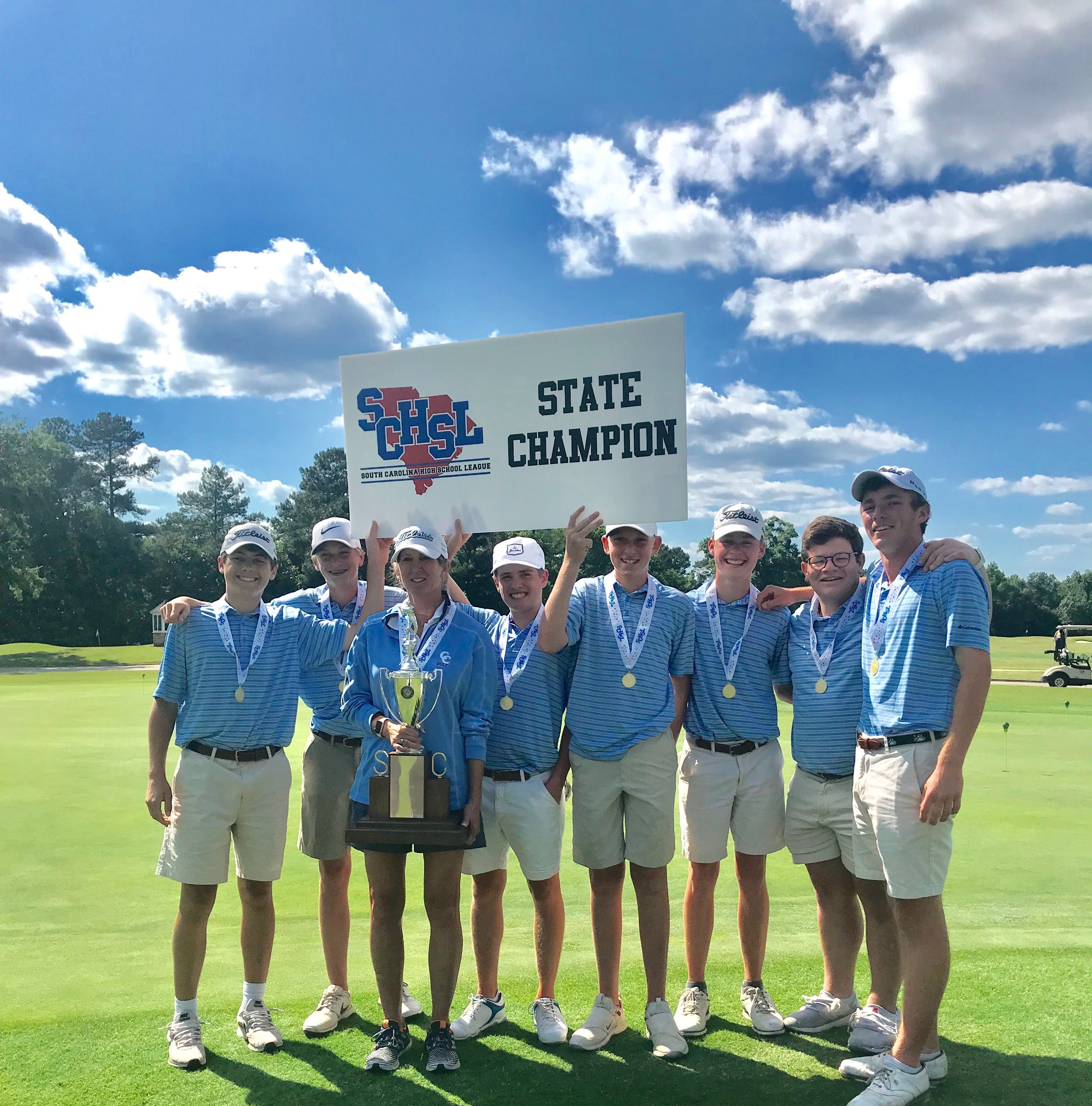 Christ Church boys golf wins its seventh straight SC state championship