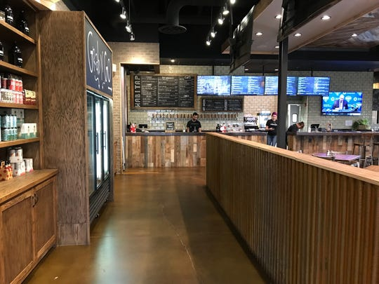 At HabiTap, service is a mix of counter and table-side, which increases efficiency and also requires fewer servers at any given time.