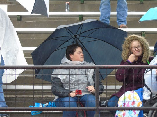 Rain couldn't keep fans away from the Special Olympics Montana Summer Games Friday at Great Falls High School