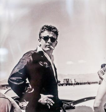 Speed, the all too short racing career and life of James Dean, May 2019.