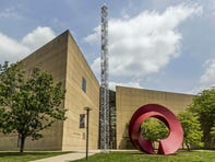 Architect I.M. Pei, who died at age 102, applied his distinctive angles to Indiana University art museum