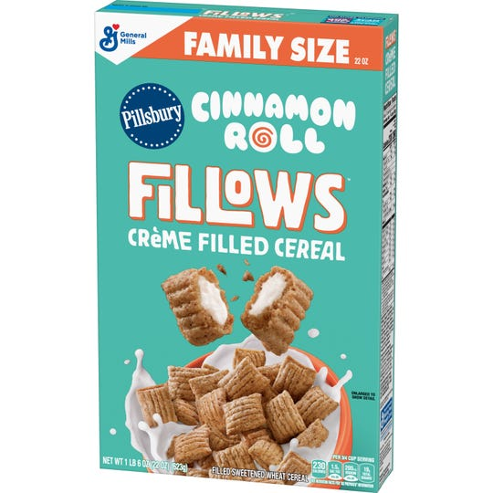 General Mills introduces Pillsbury Cinnamon Roll Fillows cereal. The cereal debuts in Indianapolis-area Walmart stores on May 20-21.