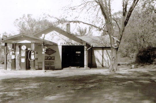 James Wahls' smithy in the Acton neighborhood south of Indianapolis was formerly a gas station dating to  1901.