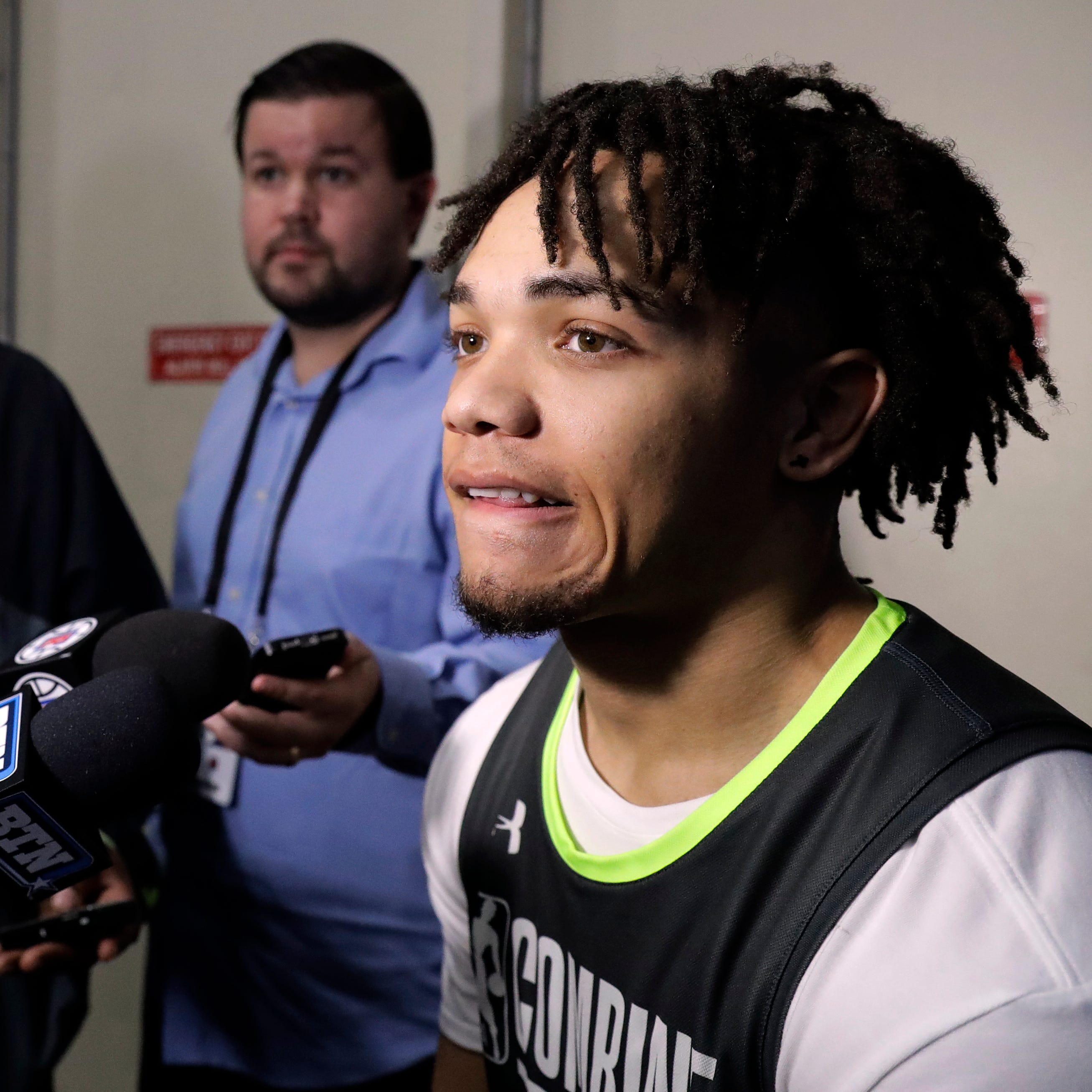 Whatever his role, Purdue's Carsen Edwards looking to impress NBA teams in draft process