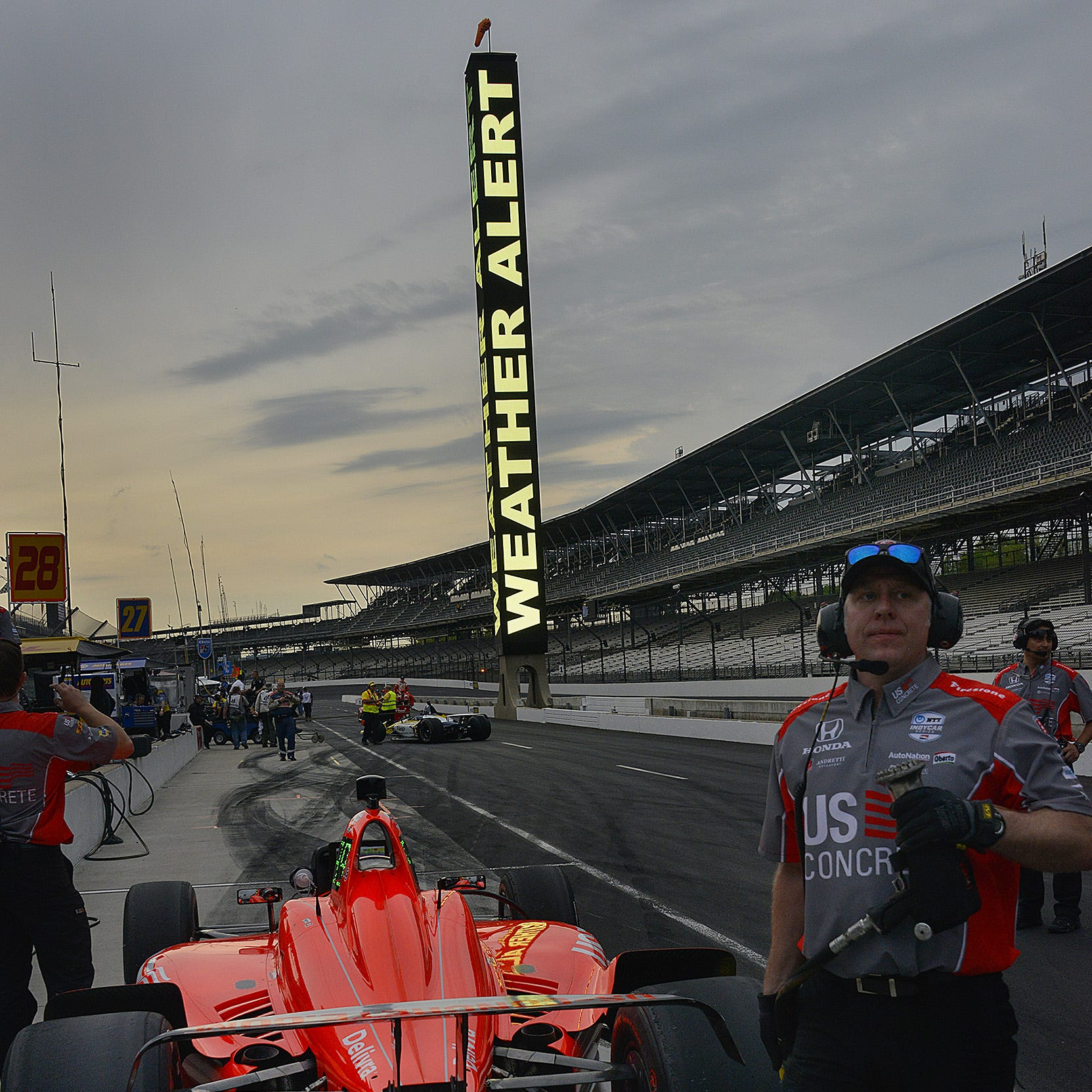 Indianapolis weather: Indy 500 qualifying will be hot, potentially stormy