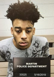 Raschad Windham, 20, of Martin is in custody in Weakley County and charged with first-degree murder and especially aggravated robbery following the shooting death of 23-year-old Luke Greene.