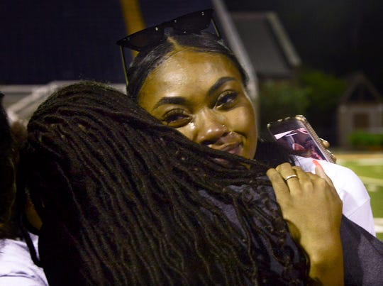 Family and friends of slain UT Martin student-athlete DeCora Alexander gathered at the UT Martin stadium on May 16 to honor her memory.