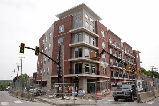 Crossing at Chauncey Hill, 202 S Chauncey St, Wednesday, May 15, 2019, in West Lafayette. Crossing at Chauncey Hill is part of the State Street Corridor Developments.