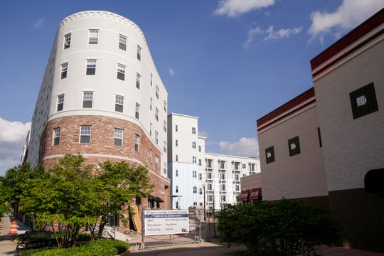 Wabash Landing Apartments, 375 Brown St, Wednesday, May 15, 2019, in West Lafayette. Wabash Landing Apartments are part of the State Street Corridor Developments.