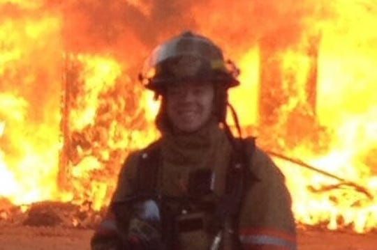 Jimmy Case, a firefighter with the Onondaga Township Fire Department, was diagnosed with three brain tumors after having a grand mal seizure on April 26. Case is having surgery May 17 to remove the largest of the three tumors.