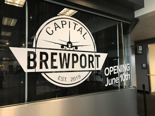 Capital Brewport will open at the airport June 10.